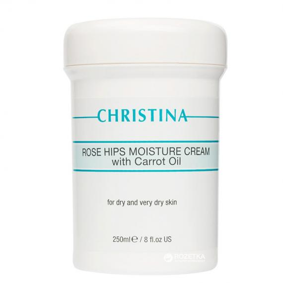 Rose Hips Moisture Cream with Carrot Oil