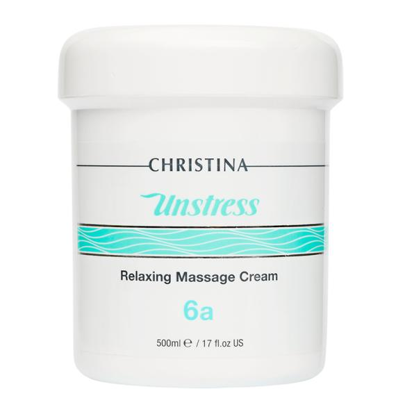 Unstress Relaxing Massage Cream (Step 6a)