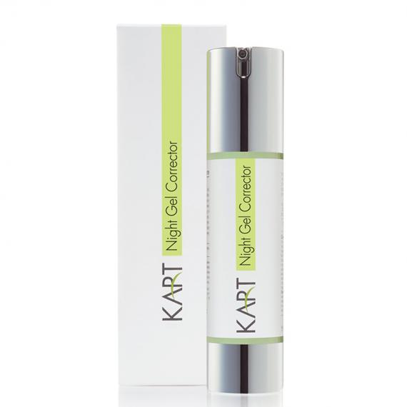 Kart Clear & Matte Night Gel Corrector