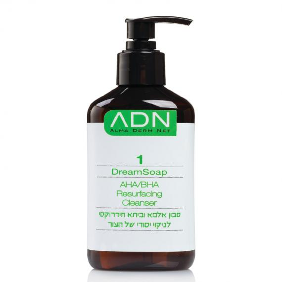 ADN Derma Peel Dream Soap / AHA/BHA Resurfacing Cleanser
