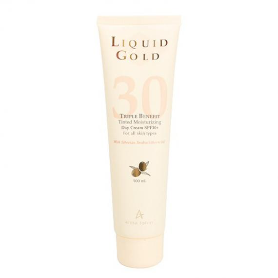 Liquid Gold Triple Benefit Tinted Moisturizing Day Cream SPF30